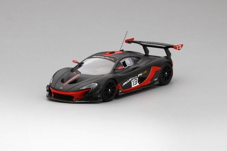 McLaren P1 GTR in gris in 1 43 Scale by Truescale Miniatures