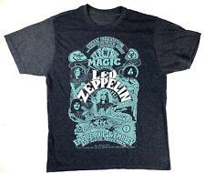New Led Zeppelin Electric Magic Tour Winter 1971 Mens Tour Vintage T Shirt Ebay