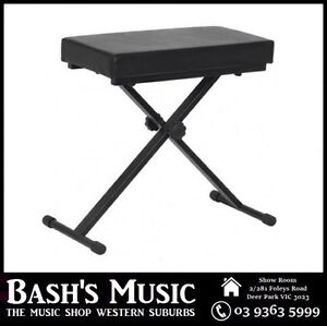 XTREME-Piano-Bench-Stool-Adjustable-Extra-Padding-Heavy-duty-Double-NEW
