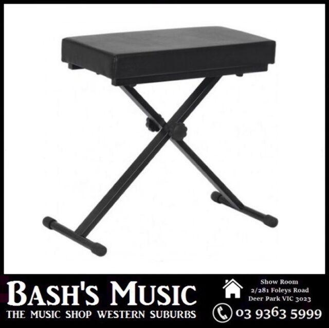 XTREME Piano Bench Stool Adjustable Extra Padding Heavy duty Double NEW