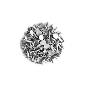 8mm Galvanised Roof Shed Felt Clout Head Nails Pack Of 50