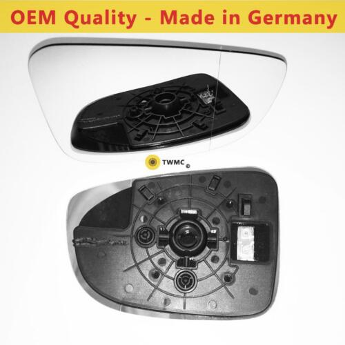 Wide Angle RIGHT HAND 2013 to 2018 Mazda 3 Wing Mirror With Base Heated