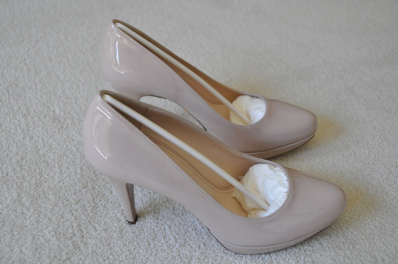 Prada Vernice Basic Cipria (nude pink) pumps size 38.5 (US 8.5)