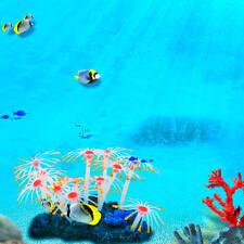Plant Aquarium Ornament With Glow Effect Artificial Coral Decor for Fish Tank