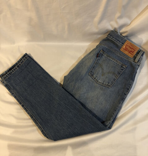 Levis Distressed 501 CT Jeans Size 28/32 - image 1