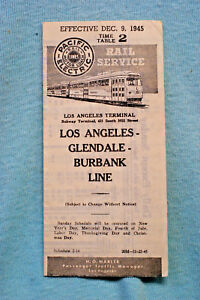 Pacific-Electric-Pocket-Time-Table-2-Glendale-Burbank-12-9-45