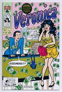 Veronica-25-ORIGINAL-Vintage-1992-Archie-Comics-GGA-Good-Girl-Art
