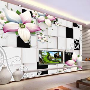 3D Blossom 441 Wallpaper Murals Wall Print Wallpaper Mural AJ WALL UK Kyra