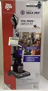 Dirt Devil Power Max Pet Bagless Upright Vacuum Cleaner, UD70167P‼️DAMAGED BOX‼️