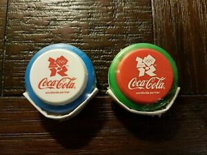 Coca-Cola-Olympic-Games-Limited-Edition-2-Yo-Yo-039-s