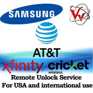 Samsung Galaxy J7 2018 J737A from ATT, Cricket & Xfinity Remote Unlock Service