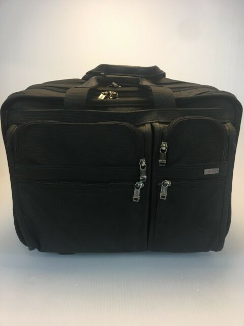 1e874676994f Tumi Alpha 2 Wheel Rolling Briefcase Laptop Luggage 26004D4 $495 Convert 17""