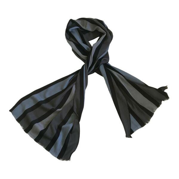 Abile Paul Smith Mainline Sciarpa-block Stripe - 180 X 45cm - 54% Modal 46% Cotone