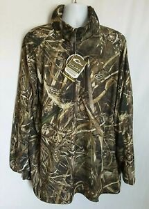 442ad841dd49a Image is loading Drake-3XL-Waterfowl-Breathlite-Zip-Camo-Pullover-Realtree-