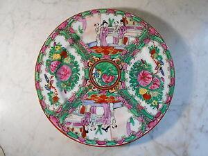 ( 01 ) Magnifique Assiette En Porcelaine De Chine Ou Du Japon