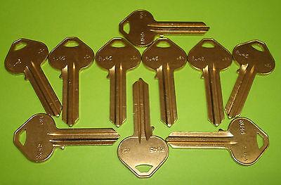 Box of 50 Ilco//Taylor RU45 Russwin Brass Key Blank