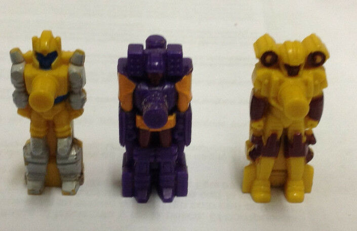 Lot 3 Transformers  Vintage Hasbro G1 Target Masters