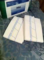 2 Diapers - Abri-form M4 X-plus - Medium Or Large Size - Plastic-backed - Adult