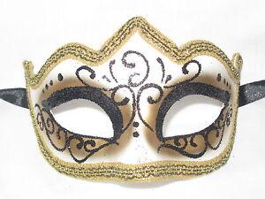 black gold glitter venetian masquerade mask mardi gras wedding