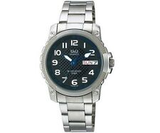 Q&Q A166-205Y Mens Sport Watch Day Date Bracelet Water Resistant Accessory New