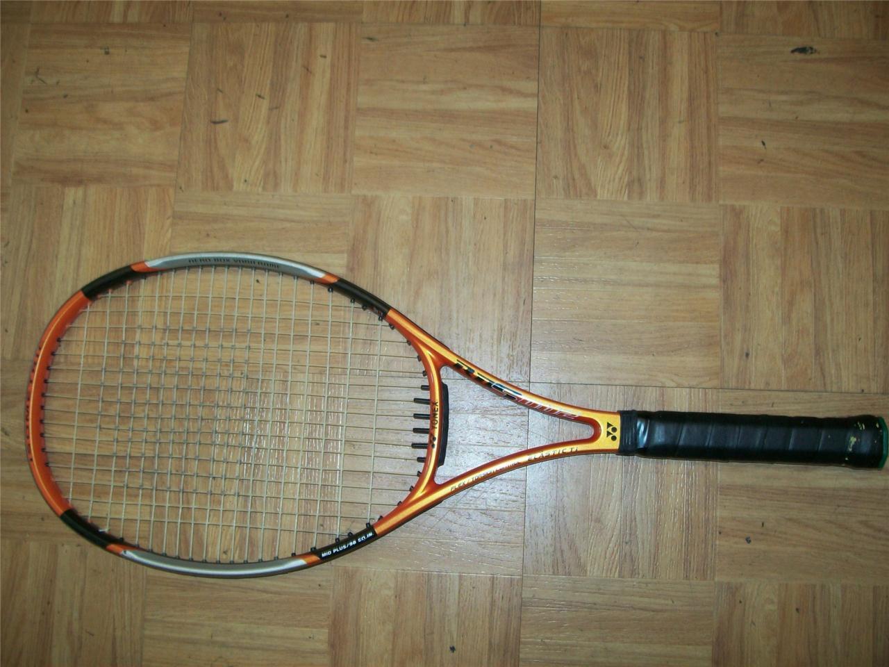 Yonex Rds 002 Midplus 98 cabeza 4 1 2 Grip Tenis Raqueta