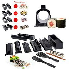 Kitchen Sushi Making Kit Complete Set Tool Roll Maker Roller Kit Home Restaurant