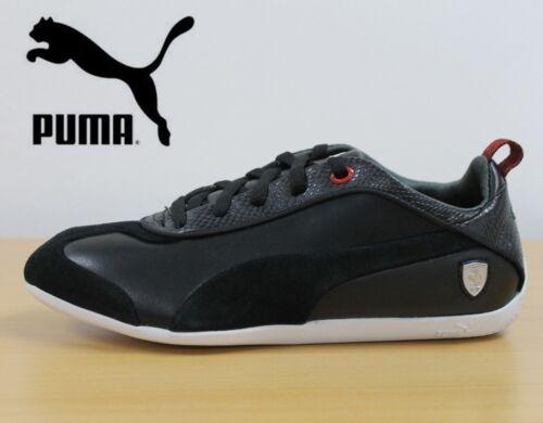 mujer Lo zapatillas Cara Pelle negras Nuevas Ferrari Motorsport deporte Puma para de de negras P18d4q
