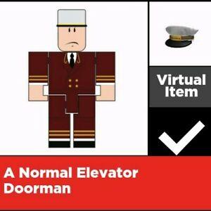 Roblox Elevator Doorman Roblox Virtual Game Code Only Ebay
