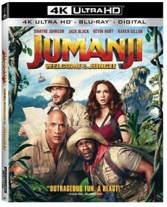 Jumanji-Welcome-To-The-Jungle-New-4K-UHD-Blu-ray-With-Blu-Ray-4K-Mastering