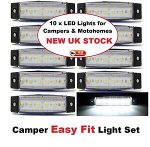 10-x-12V-Motorhome-Camper-and-Boat-White-Lights-Self-Build-12-Volt-LED-Lights