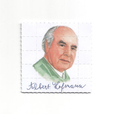 Albert Hofmann Father of LSD blotter art photo collage n1