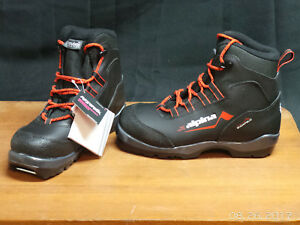 Alpina Crosscountry Boot Youth Eu Black New In Box EBay - Alpina cross country boots