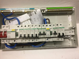 crabtree 13 way high integrity consumer unit fuse board 17th edition rh ebay ie