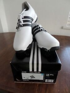 ADIDAS-PURE-TRX-WD-GOLF-SHOES-WHITE-and-BLACK-SIZE-7-5-8-9-5-10-5-BNIB