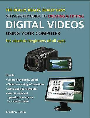 1 of 1 - The Really, Really, Really Easy Step-by-step Guide Digital Videos NEW BOOK P/B