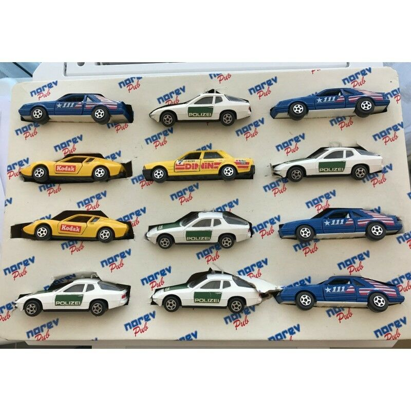 Rare norev display complete 12 models included 1.43 nb