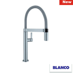 Blanco Culina S Mini Stainless Steel 519844 Pull Out Kitchen Tap Brand New 4020684612166 Ebay