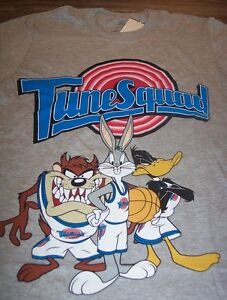 c62198add4c303 WB LOONEY TUNES SPACE JAM TUNE SQUAD Bugs Bunny Sylvester T-Shirt ...