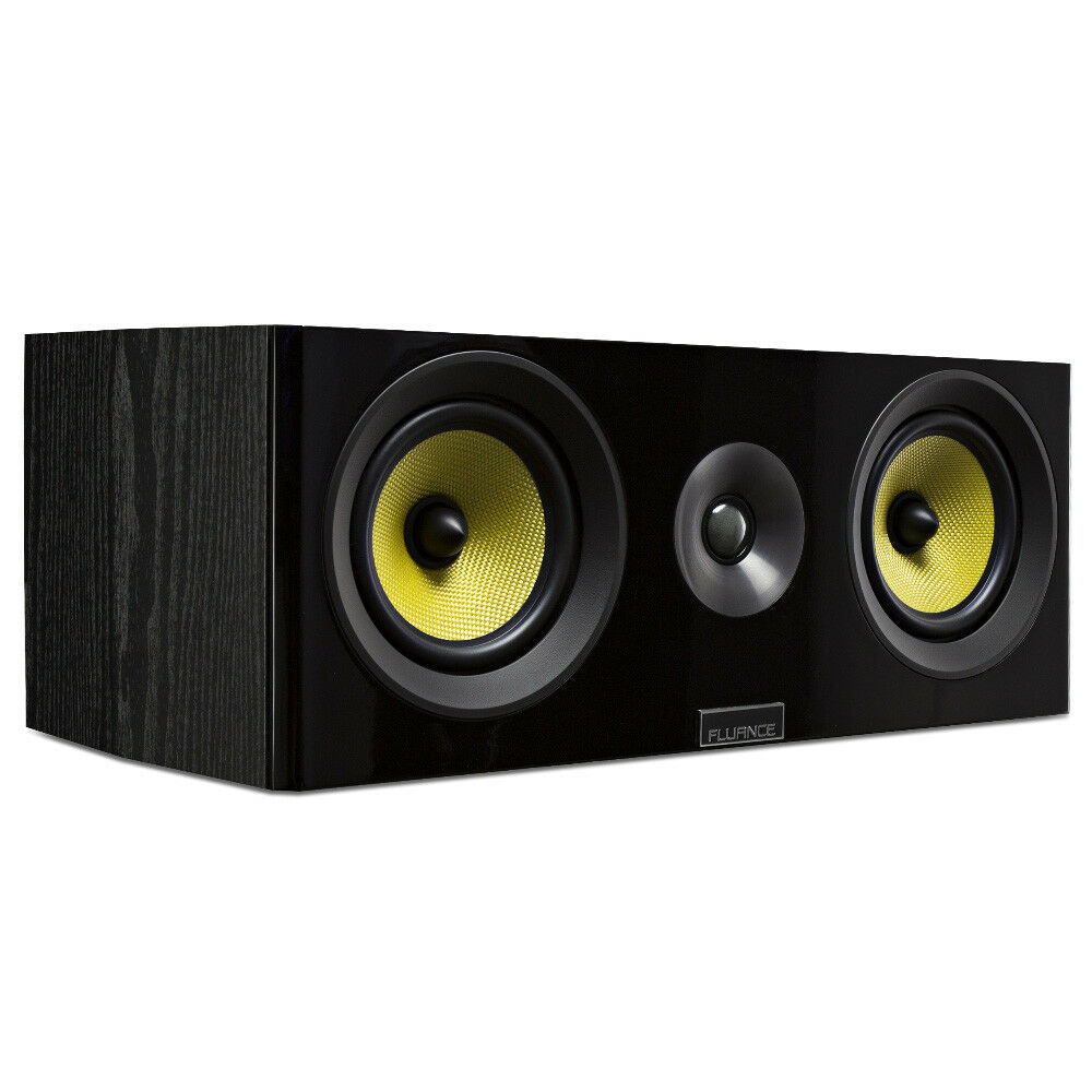 Fluance Signature Series HiFi Two-way Center Channel Speaker for Home Theater