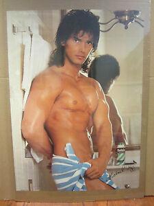 Hot Guy Michael Rapp ORIGINAL Vintage Poster 1988 2722   eBay