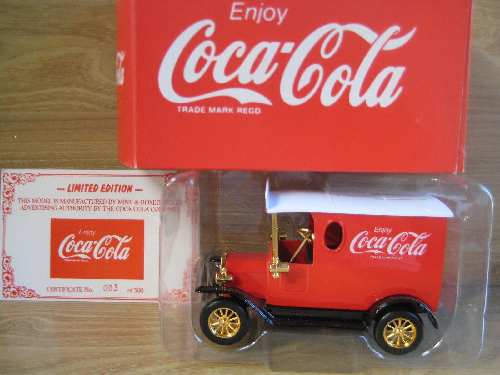 MINT & BOXED  Model T Van  COCA COLA  Limited  Australian Collectors Series 1 24