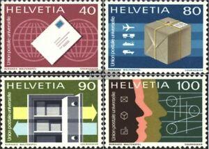 Schweiz-UPU10-UPU13-kompl-Ausgabe-gestempelt-1976-Sondermarken