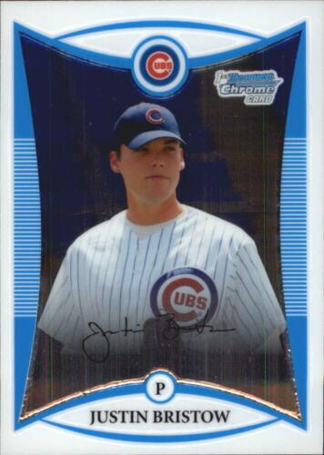 2008 Bowman Chrome Draft Prospects Baseball Pick From List