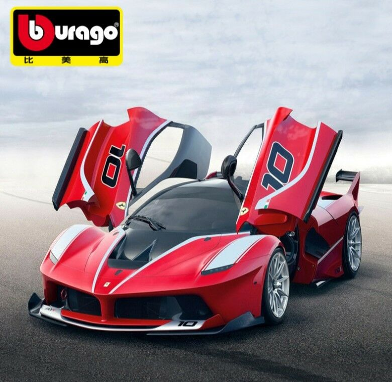 Bburago 1 18 Ferrari FXX K diecast metal  model voiture nouveau in box rouge  à la mode