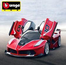 Bburago 1:18 Ferrari FXX K diecast metal model roadster car new in box red