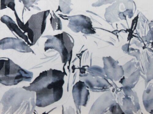 Stoff Ausbrenner Blumen Blüten Grau Weiß Schwarz Transparent
