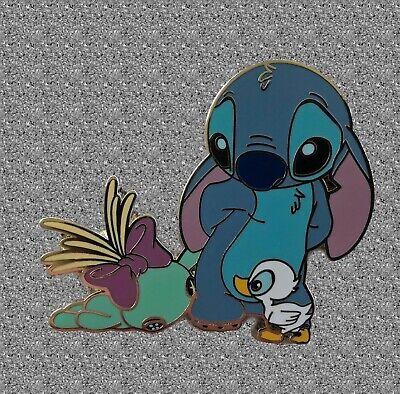 DLP DLRP Disney Land Paris Stitch Scrump Duck Duckling Pin Lilo And Stitch Pin