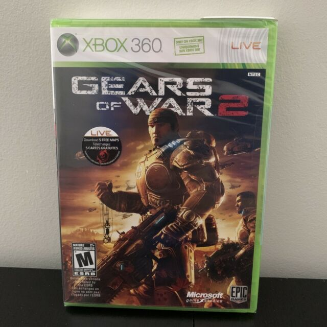 Gears of War 2 (Microsoft Xbox 360, 2008) Complete BRAND NEW SEALED!!