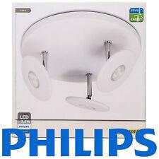 Philips Massive LED Ceiling 3 Spot light White 3 x  7.5watt triple lamp