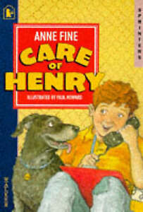 Care-of-Henry-Sprinters-by-Anne-Fine-Good-Used-Book-Paperback-FREE-amp-FAST-D